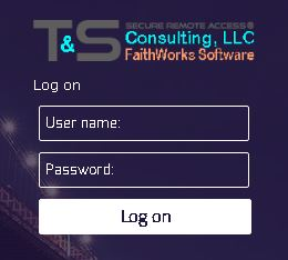 FaithWorksCloud Login